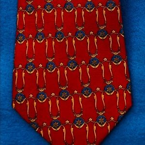 Churchill Collection Silk Tie